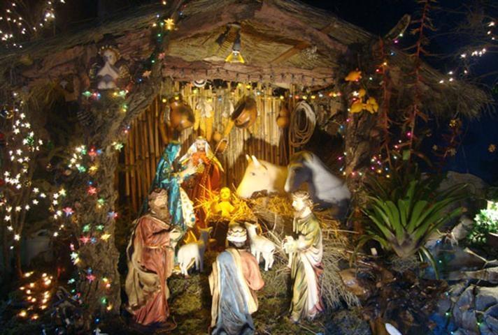 La cena típica en Navidad