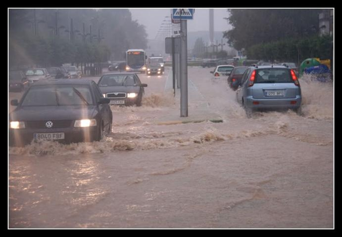 Brasil registra  fuertes lluvias