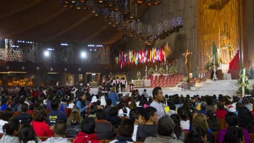 México celebra la virgen de Guadalupe