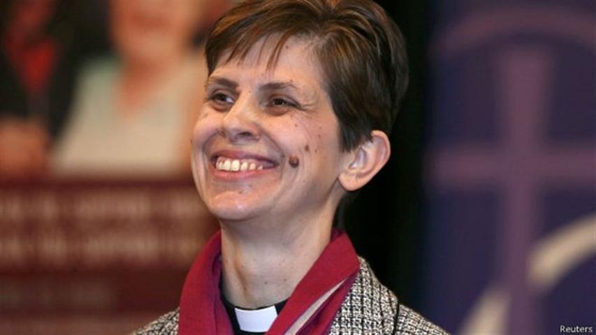 Primera obispa de la Iglesia en Inglaterra