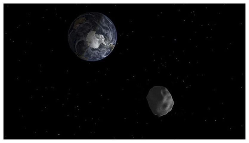 Asteroide nos amenazará cada tres años