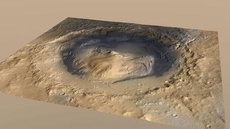 La NASA halla pruebas de la existencia de un lago en Marte