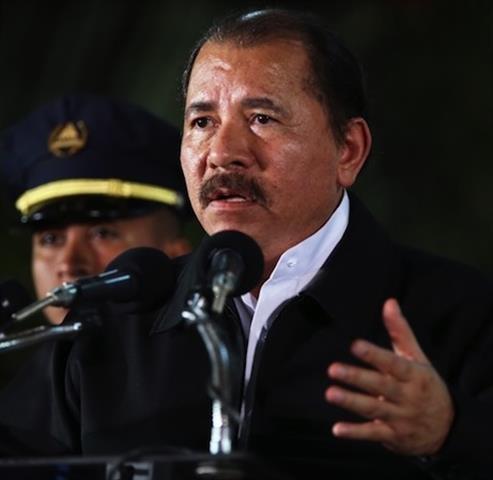 """Presidente de Nicaragua rechaza """"ley de derechos humanos"""" de EU"""