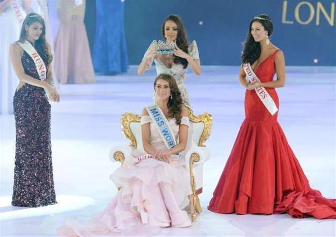 La sudafricana Rolene Strauss fue coronada Miss Mundo 2014