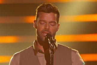 Ricky Martin canta «Disparo al Corazón» en Premio lo Nuestro 2015