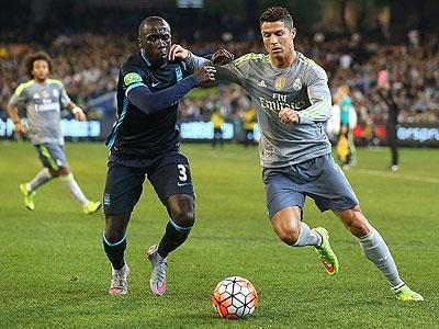 Real Madrid goleó al Manchester City 4-1 en un partido amistoso