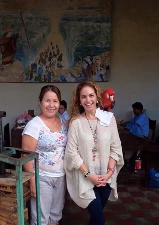 Cantante Lucero de visita en Nicaragua