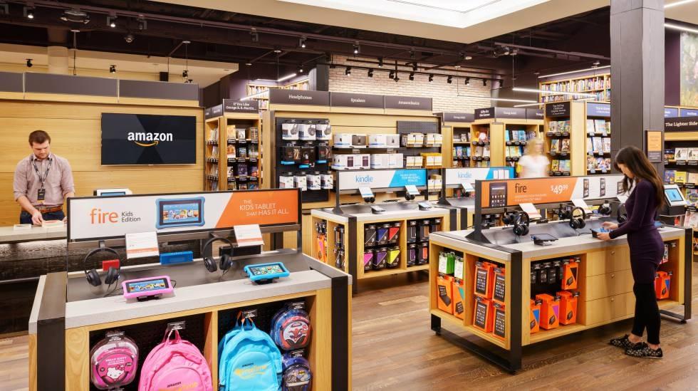 Amazon experimenta con su primera librería física en Nueva York