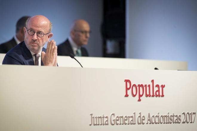 Banco Popular, el primer banco intervenido por las autoridades europeas