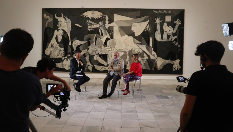 Pintura y palabra: una tarde junto al 'Guernica'