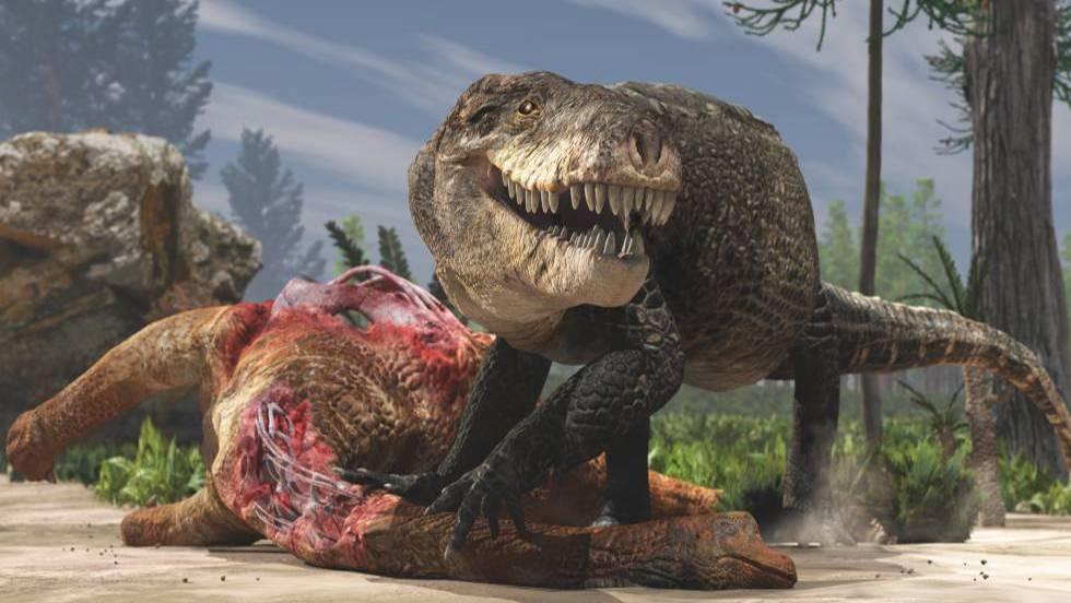 El cocodrilo gigante que tenía la dentadura de un Tiranosaurio Rex