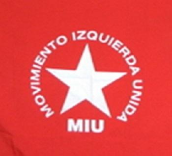 Movimiento Izquierda Unida de Republica Dominicana se solidariza con Nicaragua