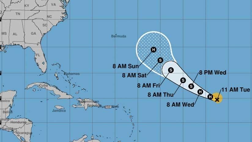 Se forma el huracán Florence