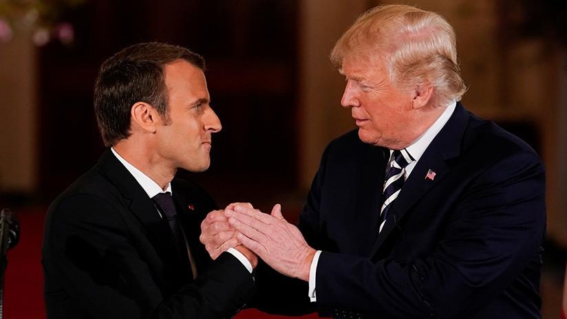 Macron ya no confía en EE.UU.