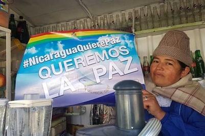 Continúan expresiones de solidaridad con Nicaragua