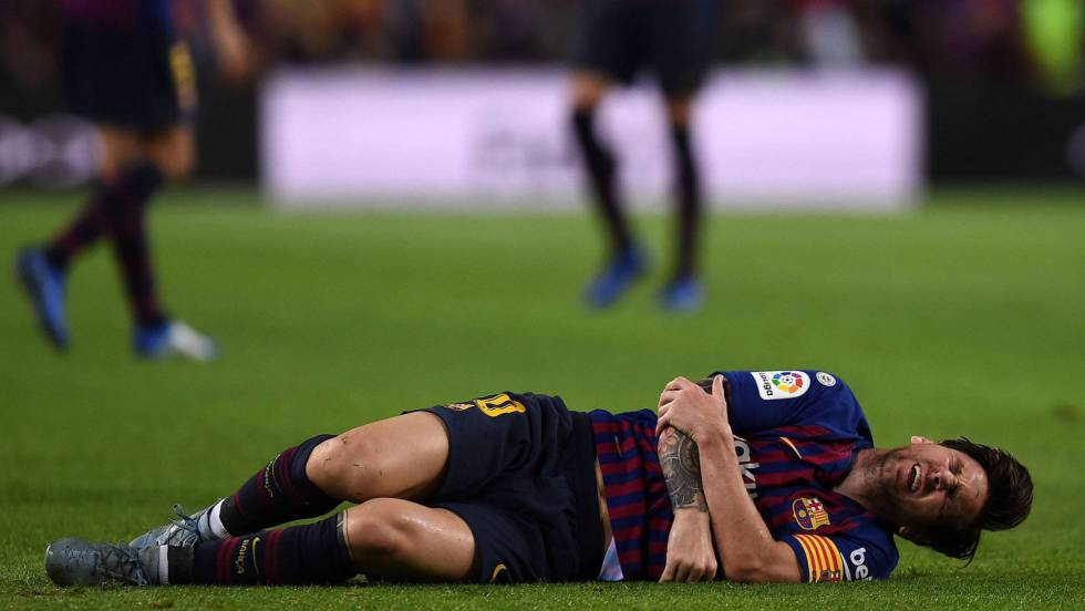 Messi se fractura