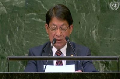Nicaragua defiende principios de soberanía e independencia en la ONU