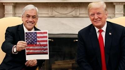 Piñera vociferó lo que Trump quería escuchar
