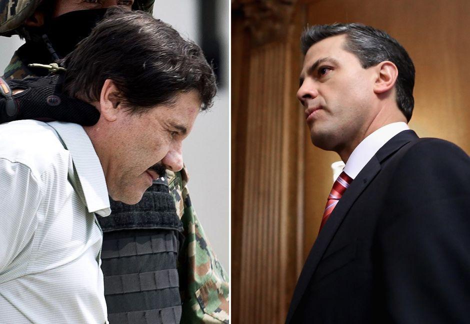 'El Chapo' pagó 100 millones de dólares a Peña Nieto