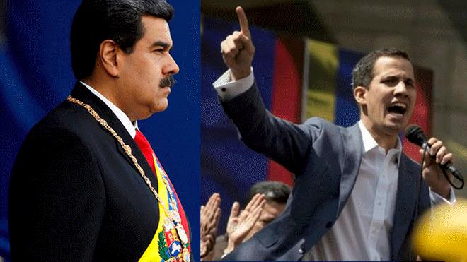 Maduro reta a Guaidó