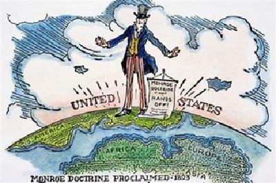 La doctrina Monroe y las guerras regionales de Bolton