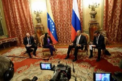 Venezuela y Rusia ratifican rechazo a cualquier forma intervencionismo