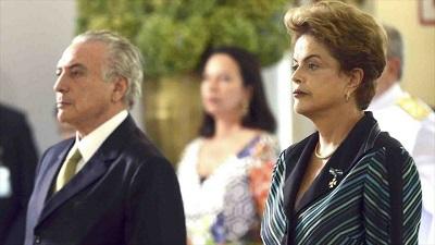 """Temer reconoce por primera vez """"golpe"""" de Estado contra Rousseff"""