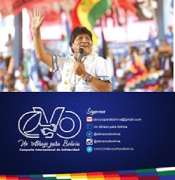 Campaña internacional en favor de Evo Morales