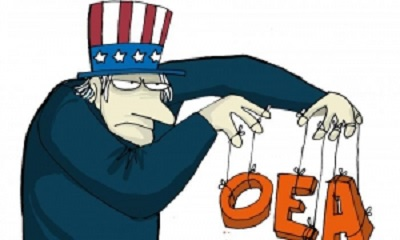 OEA insiste en ser la abanderada de la guerra