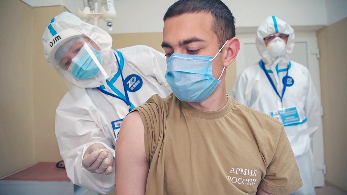 Rusia nombra su vacuna contra el coronavirus 'Sputnik V'