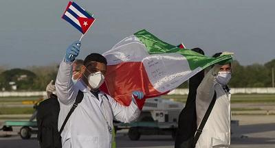 Mientras países de UE se robaban mascarillas unos a otros, Cuba se mostró solidaria