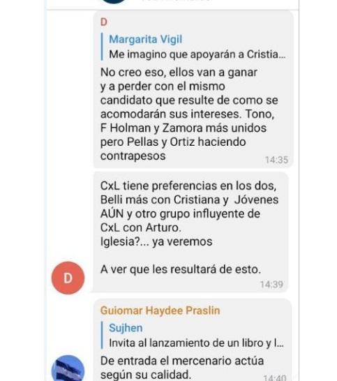 MRS se lanza «en privado» contra Arturo Cruz