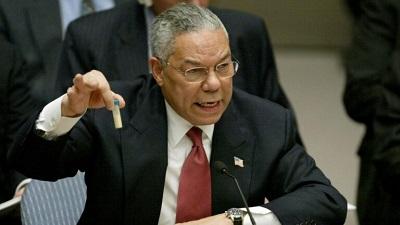 Colin Powell: incontables sus muertes y daños